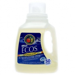 Ekologiczny Płyn do Prania ECOS - Magnolia i Lilie, 1,5L, EARTH FRIENDLY PRODUCTS